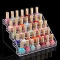2015 Free shipping   Acrylic Nail Polish Display Rack,5 layers Nail Polish  box Holder,  makeup organizer