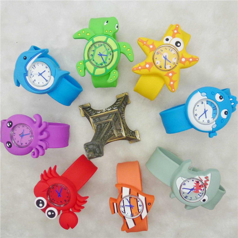 Children's Watches Cartoon Kids Wrist Baby Watch Clock Quartz Watches for  Gifts Relogio Montre Turtle