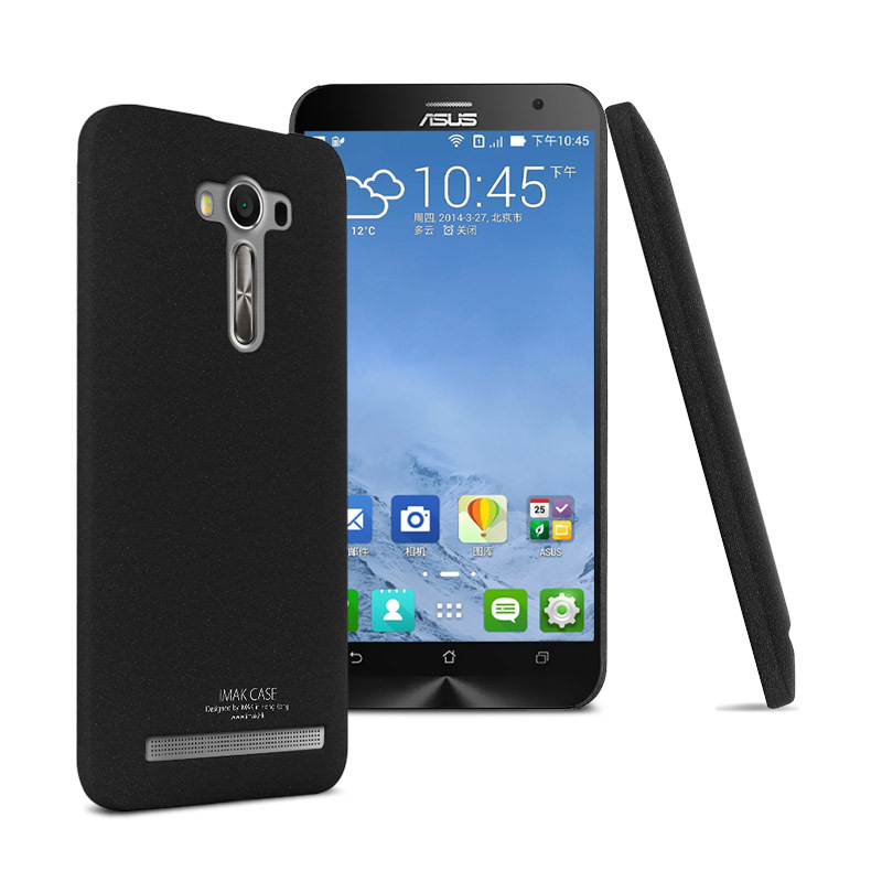 Original IMAK Contracted Frosted Cowboy Quicksand Back Cover Case For Asus Zenfone 2 Laser ZE550KL ZE551KL 55inch On Aliexpress