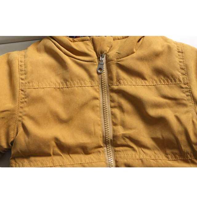 642ff80a7 Online Shop Boys Winter Hoodies Coat Thick boys Parka Fur hood ...