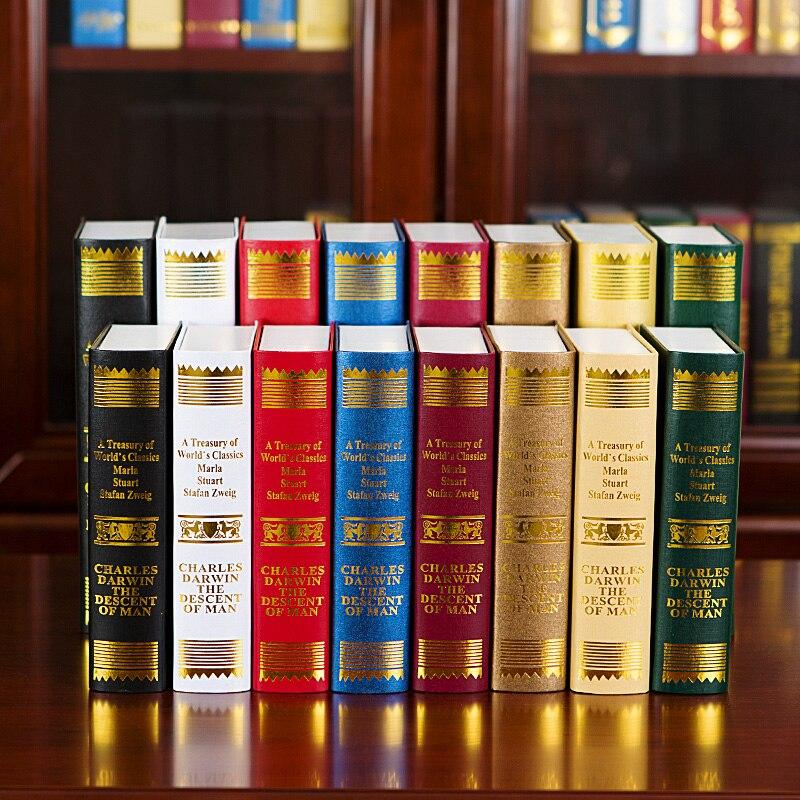 6 St Jingmei/europese Retro Darwin Decoratie Fotografie Props Boekenkast Een Nep Boek Decoratie Model Simulatie Uitstekende Kwaliteit