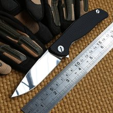 Ben Small F3 flipper bearing folding knife Cronidur30EVO blade G10 steel handle outdoor hunt camping survival knives EDC tool