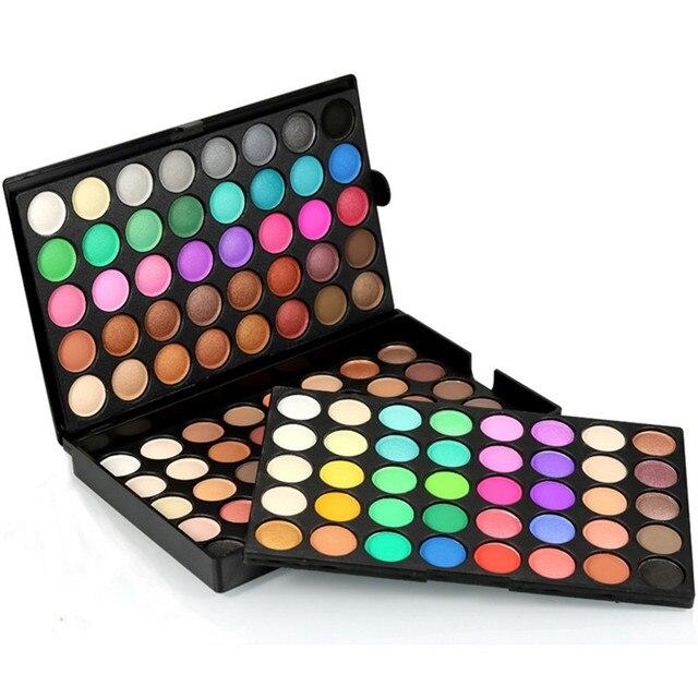 Popfeel Brand High Quality Eyeshadow 120 Colors Professional Makeup Pearly Matte Nude Waterproof Eye Shadow Palette Make Up