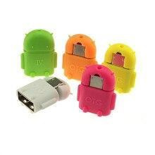 Робот Micro USB К usb OTG Адаптер Конвертер подключите к USB/Мышь/Клавиатура для Android Phone Tablet Груза падения