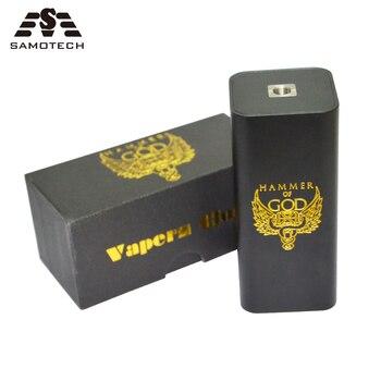 Mod mécanique pour cigarettes électriques, marteau de dieu V3 mod pour atomiseur RDA RBA, 4 pièces, batterie 18650, boîte de vape pour cigarette électronique Super puissante