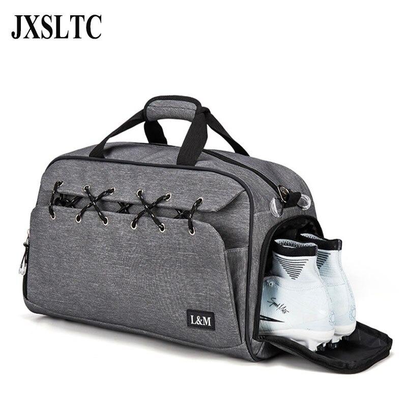 Новая мода путешествия сумки ткань Оксфорд Для женщин Чемодан дорожная сумка Для мужчин Сумки ночь сумка мешок тренировки с обуви отсек Для...