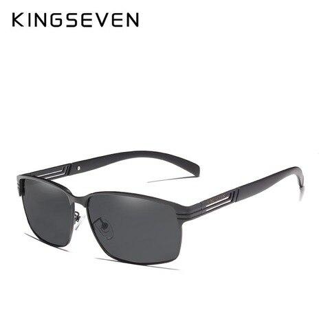 KINGSEVEN BRAND DESIGN Classic Polarized Sunglasses Men Driving Sun glasses Goggles UV400 Gafas Oculos De Sol Lahore