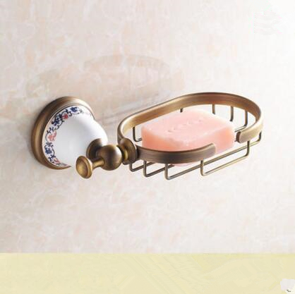 2016 Bathroom Accessories ,Antique Brass Finish Soap basket /Bronze soap dish, Fashion Modern Design soap holder ,Home Hardware
