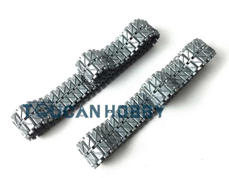 1/16 HengLong Metal Caterpillar Tracks Pedrail USA M26 Pershing RC Tank 3838 mato sherman tracks 1 16 1 16 t74 metal tracks