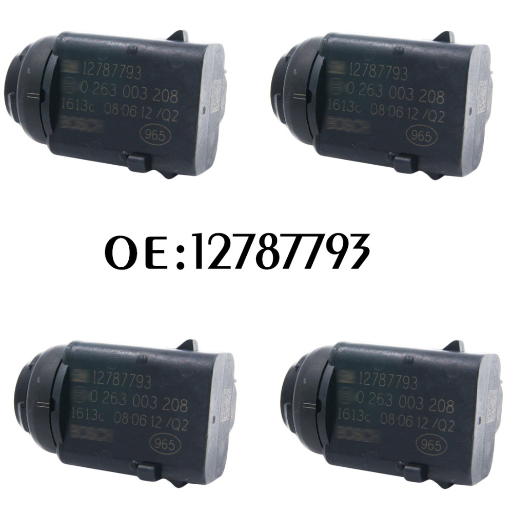 New 4pcs Parking Sensor PDC Reverse 12787793 0263003208 Parking Assistance For Opel Ford 0263003172 6238242 93172012 5HX08TZZAA new 4pcs original parking sensor brand 25994 cm10d ultrasonic pdc sensor for nissan infiniti g20 fx50 25994 cm13e