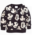 Children's T-shirt, fashion shirt, casual terry cartoon mickey clothes children,long sleeve girls boys t shirt minnie cotton