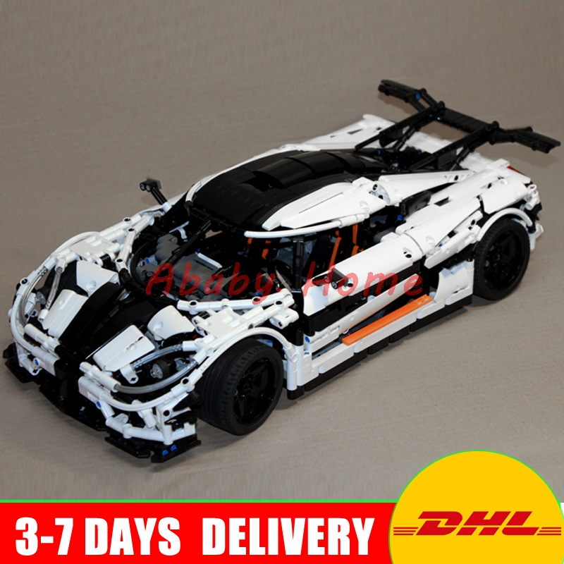 DHL Free In Stock Lepin 23002 Technic Series The Super Racing Car Set Educational Building Blocks Bricks Model Toys MOC-4789 lepin 21010 914pcs technic super racing car series the red truck car styling set educational building blocks bricks toys 75913