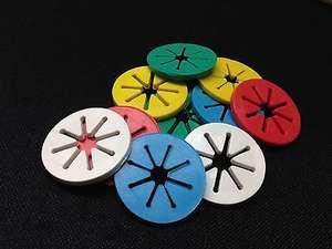 4000 Pcs VIP Link Sock Holder Rings Colorful Sock Clips