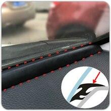 1,6 m EDPM Gummi Noise Isolierung Schalldichte Anti staub Dicht Streifen Trim Für Auto Auto SUV MPV Dashboard Windschutzscheibe kanten