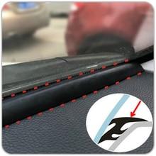 1.6m EDPM גומי רעש בידוד לרעש נגד אבק איטום רצועות לקצץ עבור אוטומטי רכב SUV MPV לוח מחוונים שמשה קדמית קצוות