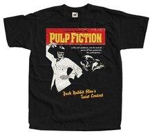 Pulp fiction v9 q. tarantino filme poster 1994 camiseta todos os tamanhos s a 5xl