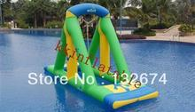 Water entertainment inflatable products, water trampoline, inflatable swing, water platinum house, inflatable sports goods
