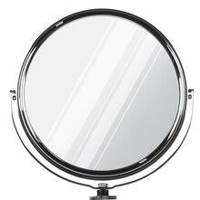 Iluminação led de 15cm com anel, espelhado