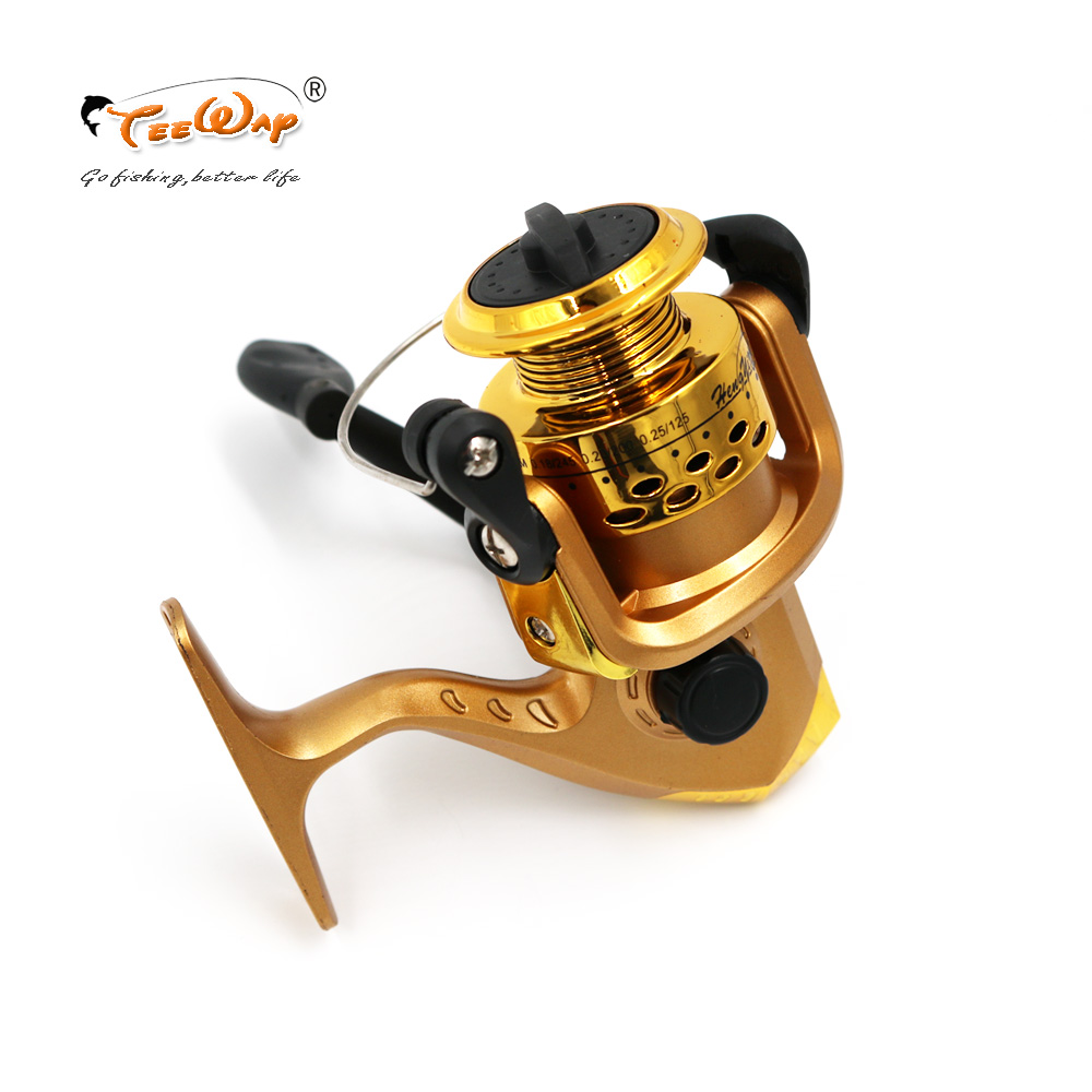 Fishing Reels Small Reel Front Drag Spinning Reels 3BB 5.2:1 Feeder Coil Fishing Tackle HY-X01