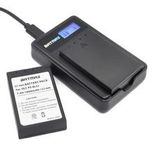2pack BLS 1 BLS1 BLS-1 Rechargeable Li-ion Batteries +LCD Charger  for OLYMPUS E-PL1 E400 E410 E420 E450 E620 E-P1E-P2