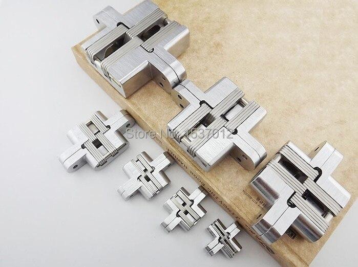 MA-04Stainless стальная дверная петля новые имеющиеся с винтами скрытый, невидимый 13*60 см