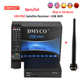 DVB-S2 Satellite Receiver FTA HD 1080P Satellite TV decoder internet sharing support clines/newcam/mgcam/biss key with USB WIFI