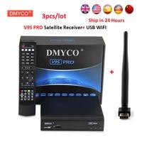 DVB S2 Satellite Receiver FTA HD 1080P Satellite TV decoder internet sharing support biss key with