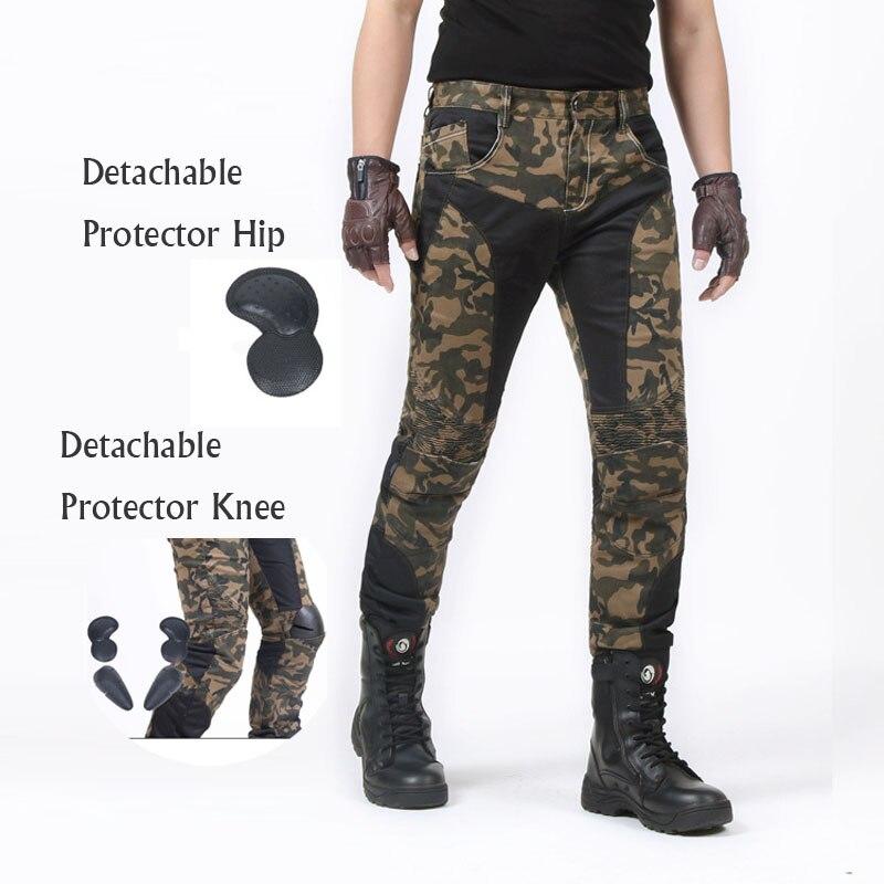 Здесь можно купить  Motorcycle Pants Off Road Motocross Trousers Racing Men Jean Leisure elastic mesh camouflage riding pants   Автомобили и Мотоциклы