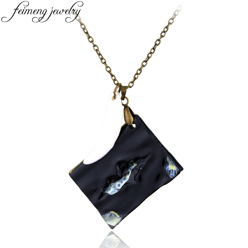 feimeng jewelry Magic Movie Horcrux Pendant Basilisk Fang and Tom Riddle Diary Necklace Black Book With Teeth Statement Necklace