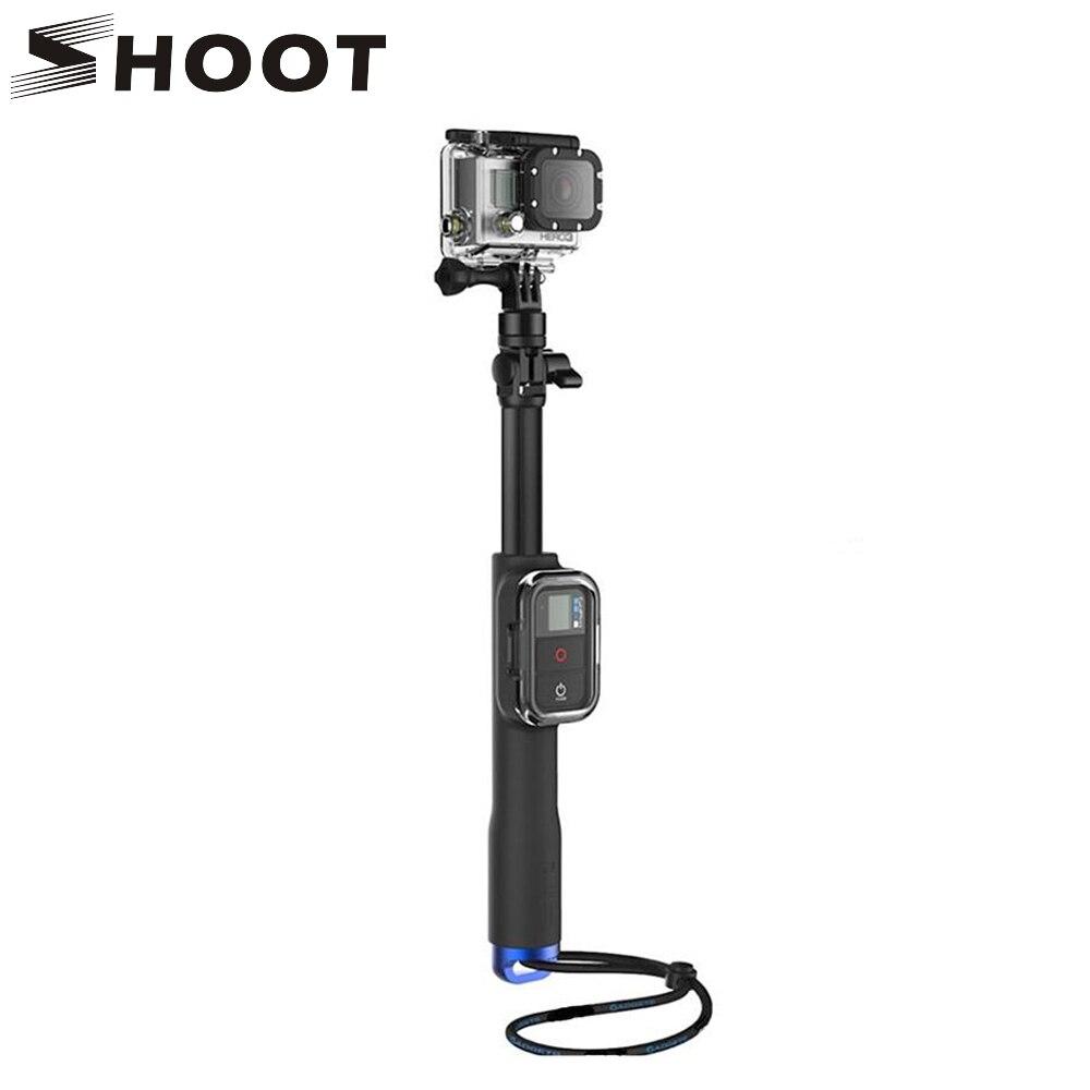 Wasserdichte Selfie Stick Einbeinstativ Ausziehbare Pole Für