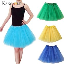 11Colors 2017 New Pettiskirt Women Ballet Tutu Layered Organza Lace Mini Skirt Cotume Corset Accessories Petticoat Feb13(China)