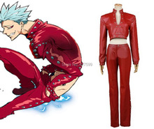 The Seven Deadly Sins Sin of Greed Ban Cosplay Costume