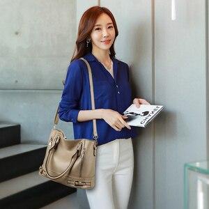 Image 3 - 2020 New Leather Womens Handbag Luxury Women Shoulder Bags Designer Female Crossbody Messenger Bag Lady