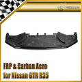 Car-styling For Nissan GTR R35 Nismo Style Carbon Fiber Front Lip