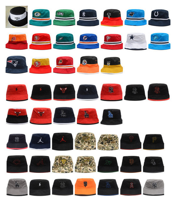 Football Baseball Basketball Bucket Hats Camo Jean Sports Hats Womens Mens  Fishing Caps Cool Outdoor Fisherman Hat Casual Cap 1047b343b8b