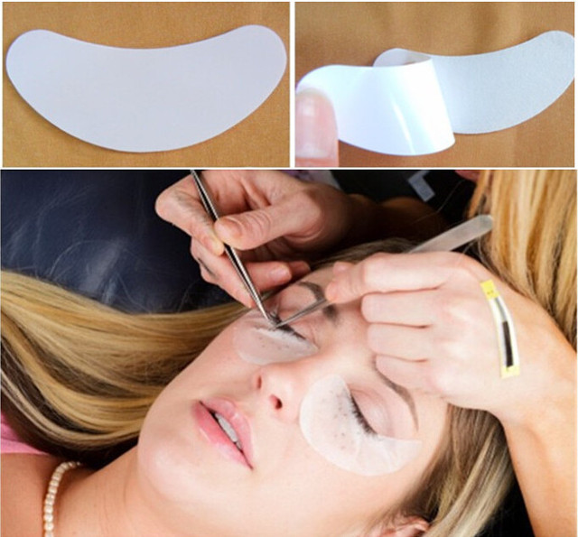 8d50ce283f8 50 Pairs Under Eye Gel Patch for Eyelash Extensions Eye Gel Pads Eyelash  Extension Pad Make