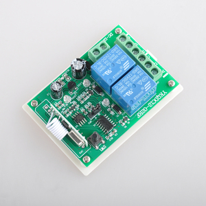 Image 4 - DC 12 V Wireless Motor Remote Switch Controller Forwards Reverse Up Down Stop Wall Transmitter Manual Button Limit Switch