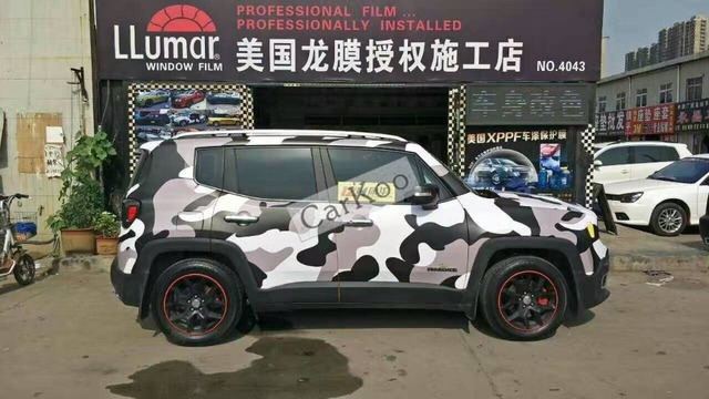 Big Camouflage Custom Car Sticker Bomb Camo Vinyl Wrap Car Wrap - Custom car body stickers