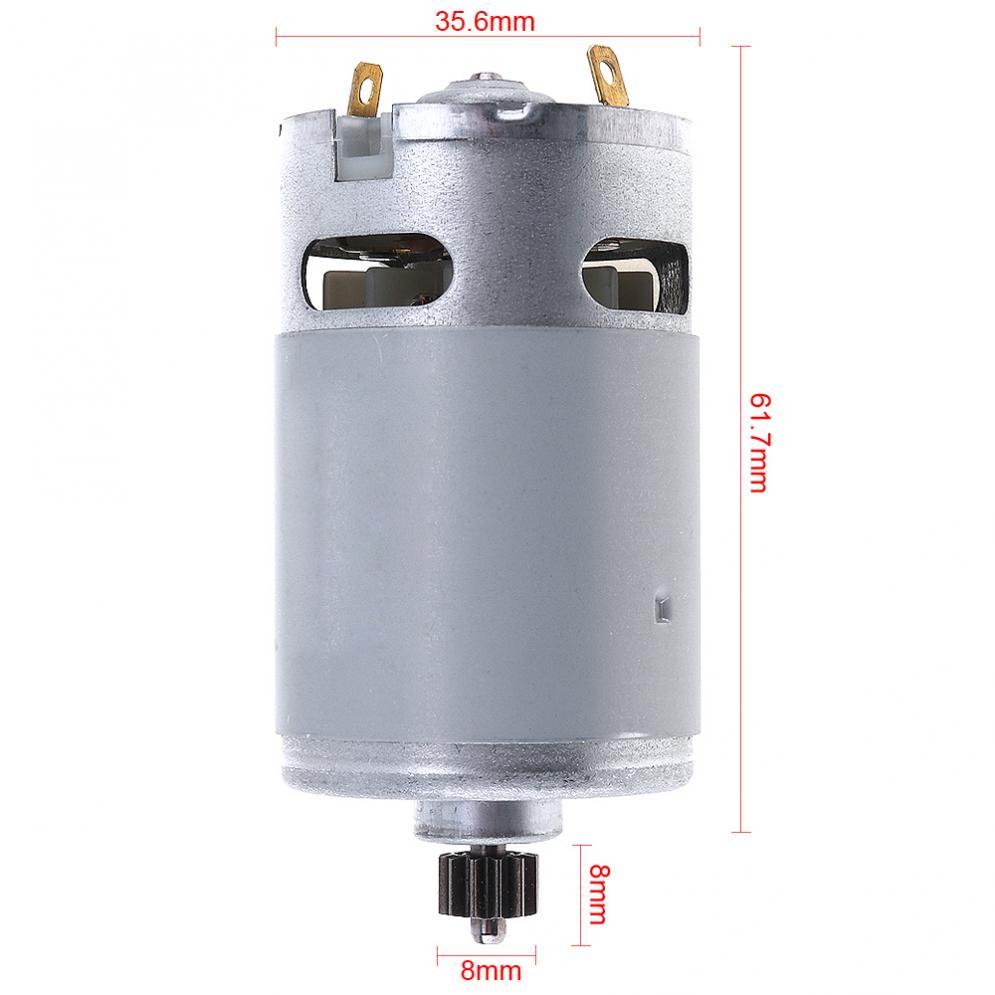 RS550 21 V 13500 RPM Durable DC Motor mit Zwei-geschwindigkeit 12 ...