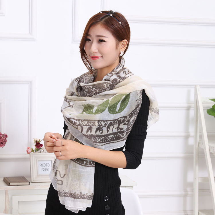 2016 New Arrival European and American Hot 100 Dollar Woman Scarf Polyester Shawl Autumn Winter Warm Scarf Muslim Cape