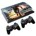 Кожи Наклейки для PS3 Оригинальный жира ПВХ крышка для консоли ps3 для mando ps3 наклейка для ps 3 игры видео игры PS3