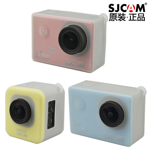 Clownfish Soft Silicone Gel Full Protective Case for SJCAM SJ4000/SJ5000/M10 Plus SJ7000 SJ9000 H9 C30 Action Camera Accessories