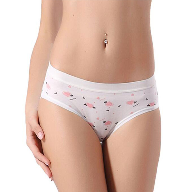 SCECENT Brand Women Panties New Sexy Calcinha Female Candy Color Casual Cot..