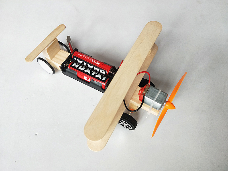Happyxuan-DIY-Wind-Power-Glide-Plane-Model-Kit-Wood-Kids-Physical-Science-Experiments-Toy-Set-Preschool-Educational-1