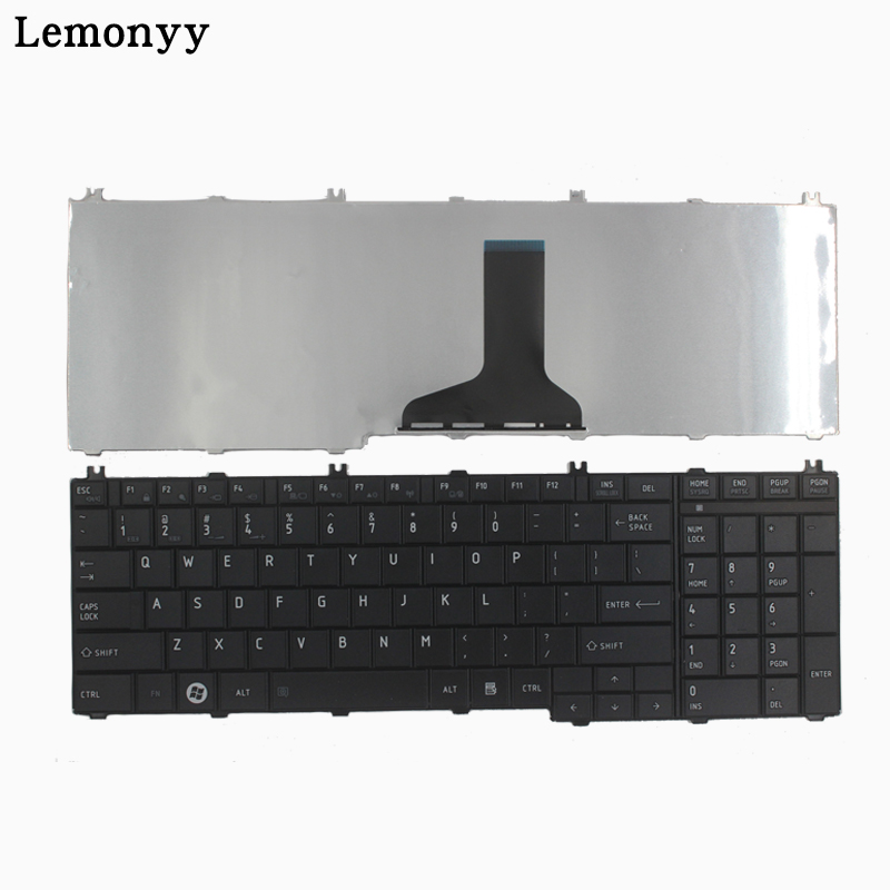 NEW For Toshiba Satellite L670 L670D L675 L675D C660 C660D C655 L655 L655D C650 C650D L650 C670 L750 L750D US Laptop Keyboard