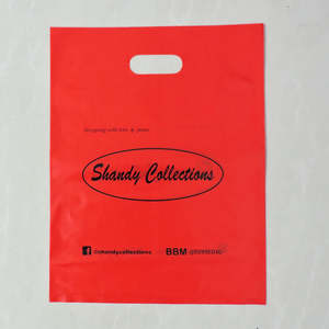 c54c58aac0 custom plastic bag for print gift packaging shopping bag printed logo  handle plastic bag