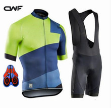 2017 new short sleeve Cycling Jersey summer Skinsuit Men's Sports Clothing bib shorts Cycling Clothing Ropa De Ciclismo Maillot