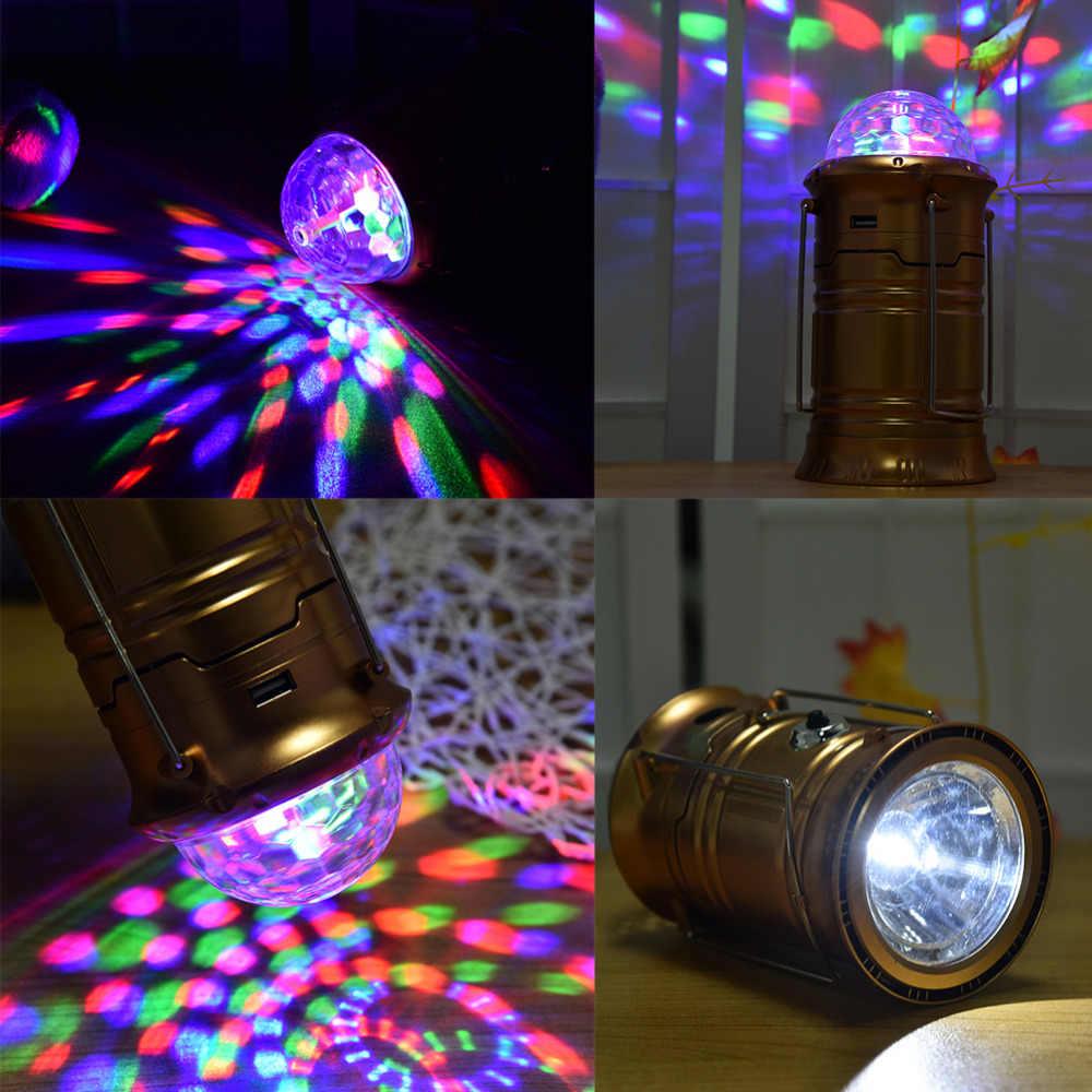 3色ledハンドランプポータブルledライトステージキャンプランタンテントライト充電式緊急用屋外照明