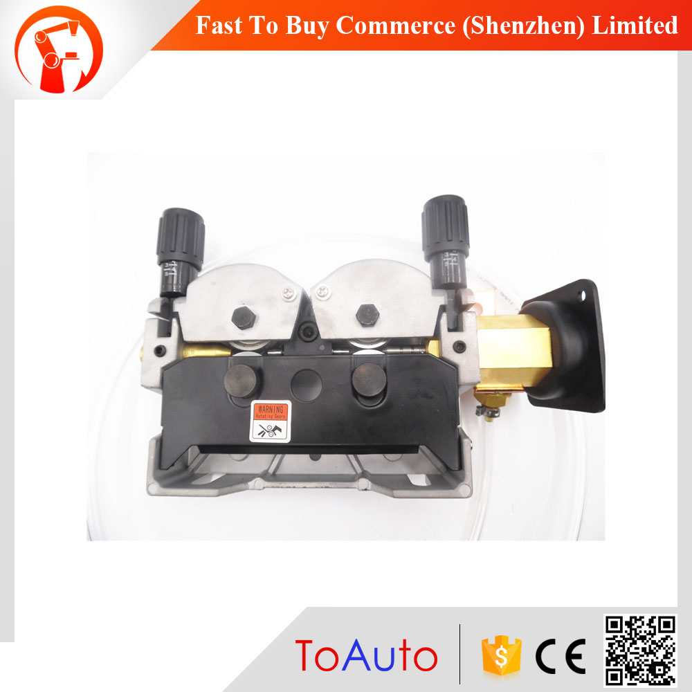 New DC24V 80W Mig Wire Feeder WITHOUT Motor Feeding Machine Double Drive for MIG MAG Welding Machine 1.0-1.2mm 2.0-24m/Min thermocouple spot welding machine tl weld metal ball lotus wire feeder thermocouple welding