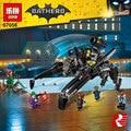 Lepin 07056 775 Unids Genuino Serie de Películas de Batman El Transcursor Bat Nave Espacial Conjunto de Bloques de Construcción Ladrillos de Juguetes Educativos 70908